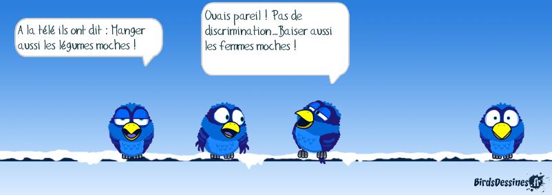 Pas de discrimination