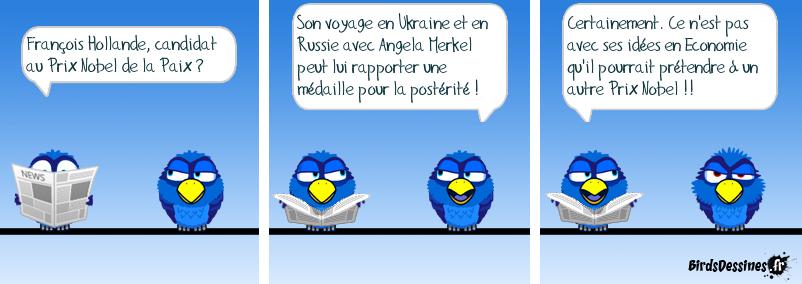 Hollande, Ministre des Affaires Etrangères au Chômage