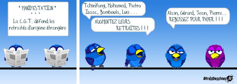 ♪ Mon canard chez les birds ♪ 13/3 ♪