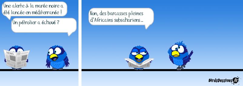 Misère noire… (Humour ; noir aussi)