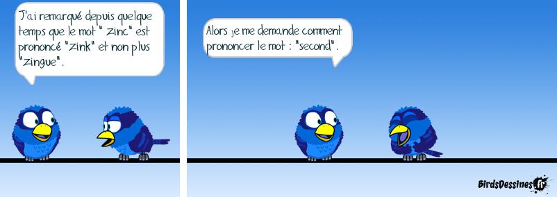 question de prononciation