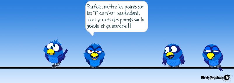 PARFOIS… LES POINTS…