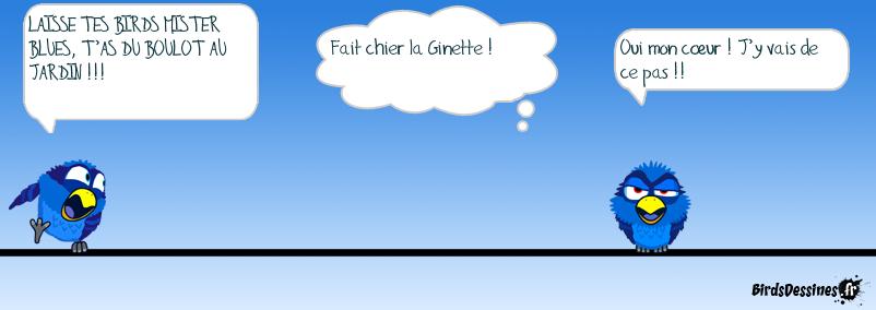 GINETTE ME CASSE LES C......