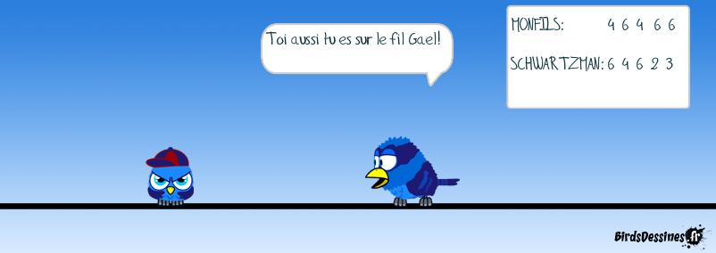Les Birds à Roland-Garros