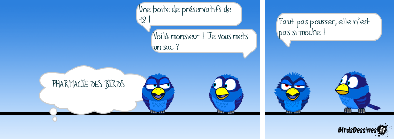 PHARMACIE DES BIRDS SUITE...