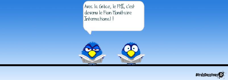 La crise grecque, je m'énerve pas, je continue d'expliquer, Germaine !