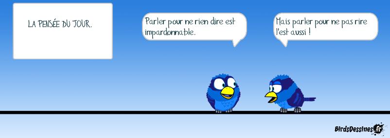 La devise de BirdsDessinés.