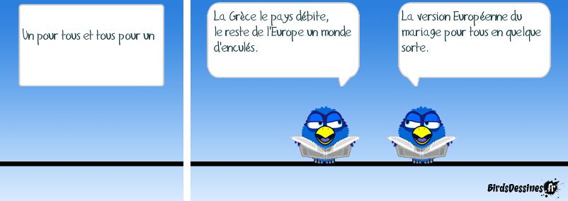 L'Europe en crise