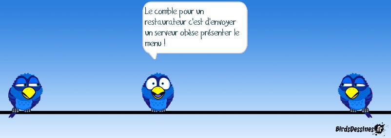 le comble ( merci blue parrot!)