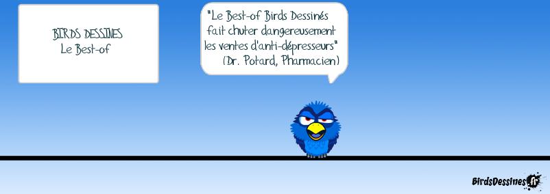 Birds Dessinés Le Best-of : les critiques sont unanimes