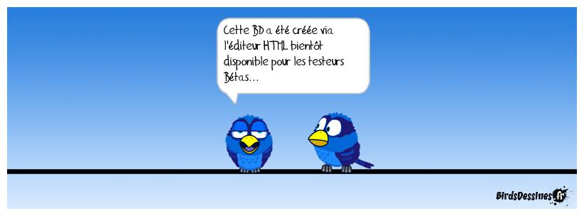 Test de l'éditeur HTML