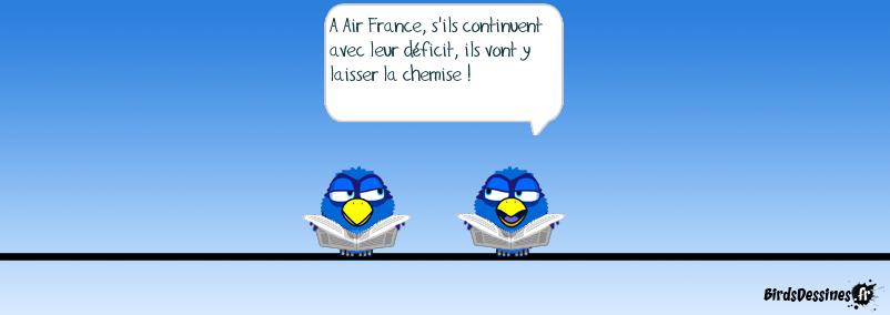 A Air France, les cadres sont cul et chemise avec les syndicats