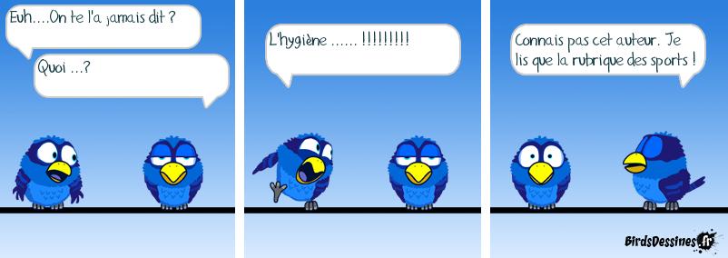 Lis pas que les Birds !