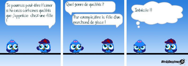 LES QUALITÉS D'UNE FILLE