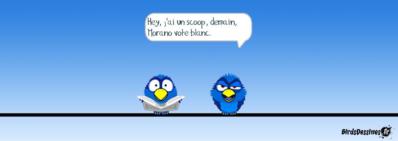 Alors voter Morano !