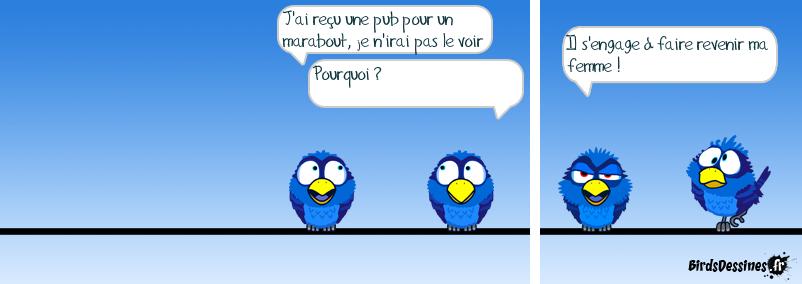 Marabout , bout de ficelle......