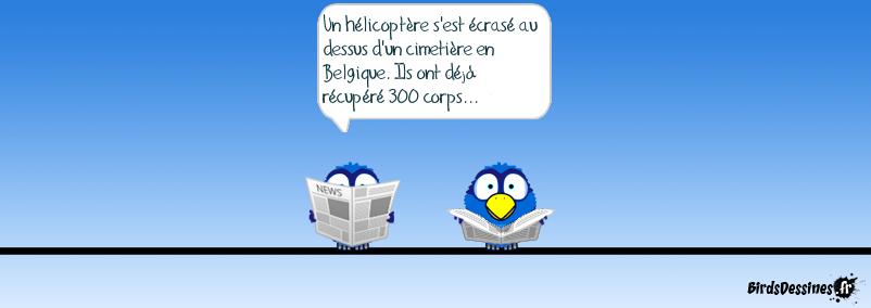 Accident en Belgique