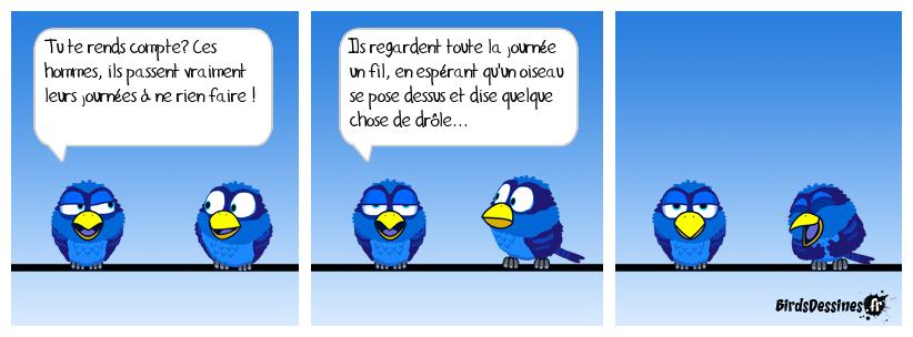 Le principe des Birds Dessinés