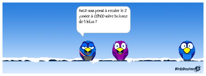 CHANGEMENT DE DÉBUT D'ANNÉE (BD REFAITE)