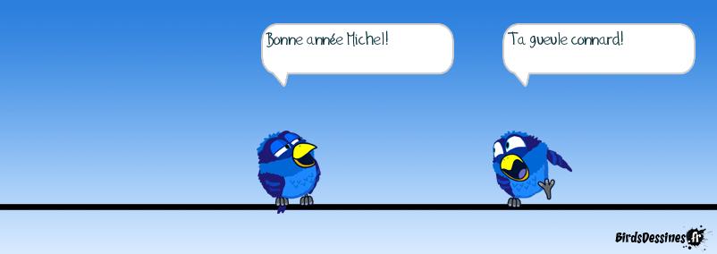 Bonne année Michel