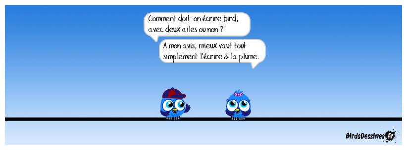 L'aile ou la plume
