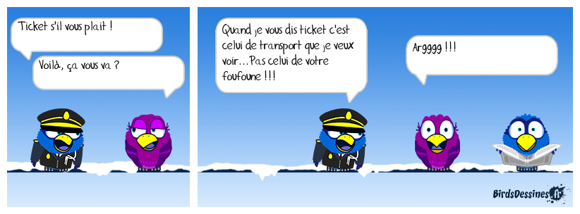 IL Y A TICKET ET TICKET