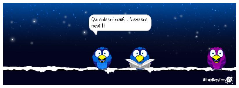 PROVERBE DÉTOURNÉ DE MISTER BLUES