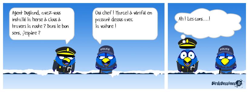 LE BARRAGE (BD REFAITE - CAUSE MANQUÉ LA FIN DU TEXTE DANS 1ére BULLE)