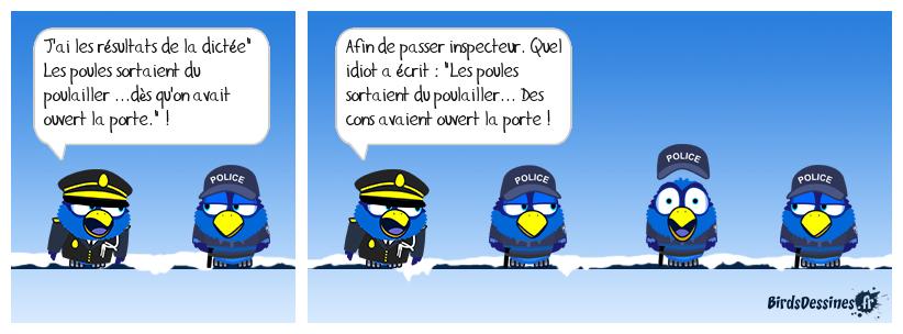 CONCOURS DANS LA POLICE