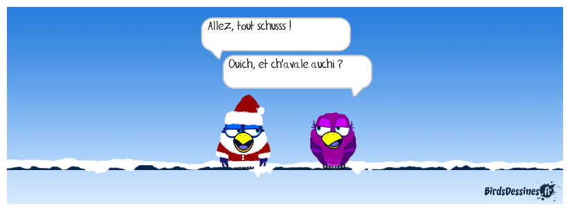 Vacances à la neige !