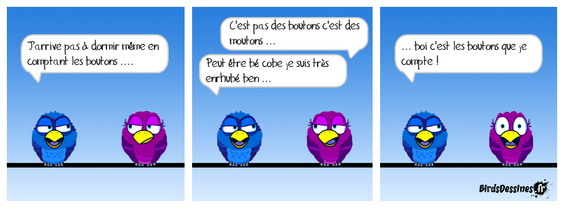 Compter les boutons ...