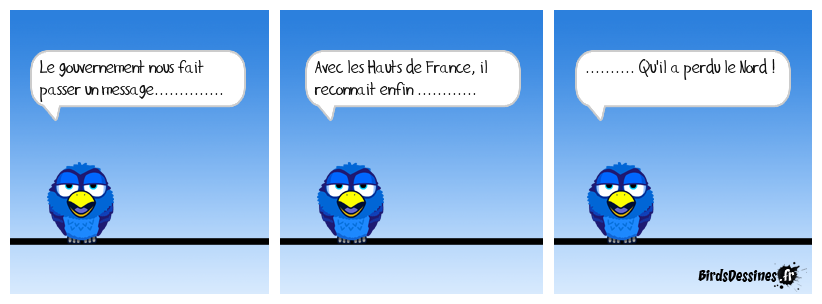 Et le Sud, ça devient les Bas de France ou les Chaussettes !