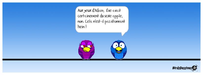 Apple, déjà ! non j'déconne.