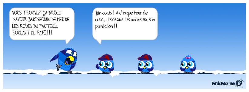 LE FAUTEUIL ROULANT DE PAPI