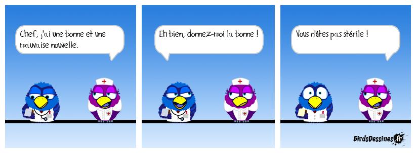 Le docteur et la secrétaire