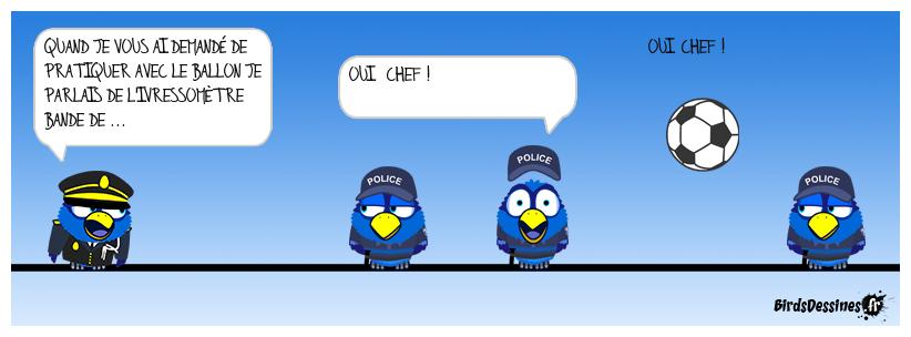 Bonjour la police