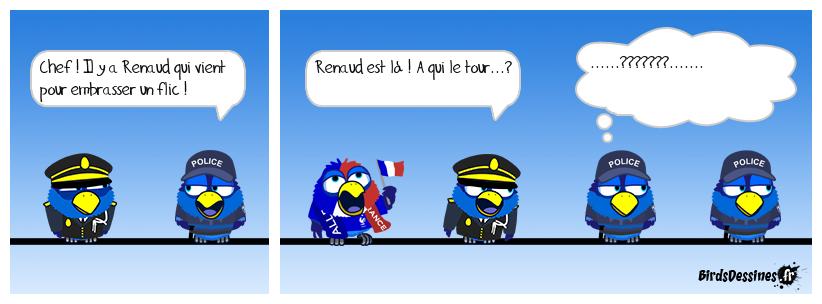 RENAUD EN TOURNÉE...DE COMMISSARIAT