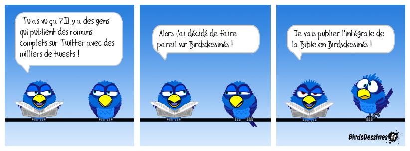 Si les Birds se mettaient à twitter ...