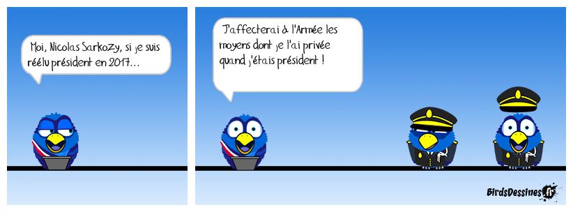 Grandes manœuvres pour Sarkozy