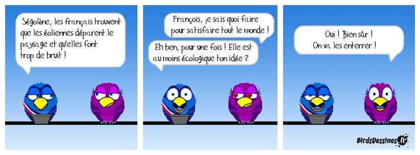 Conversation séghollandienne (origine Laurent Gerra)