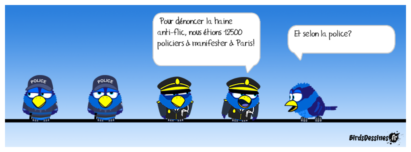 Selon les syndicats... de police!