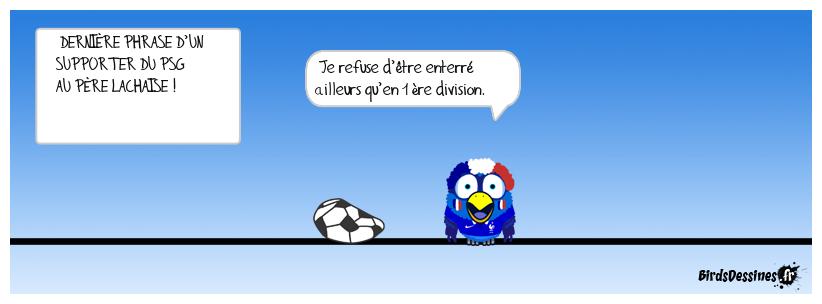 MORT D'UN FAN DE FOOT !