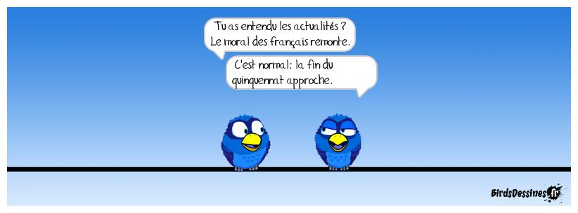 Le moral des français