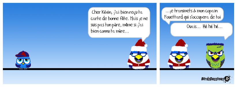 Le Père Noël à la manière de MadMac...