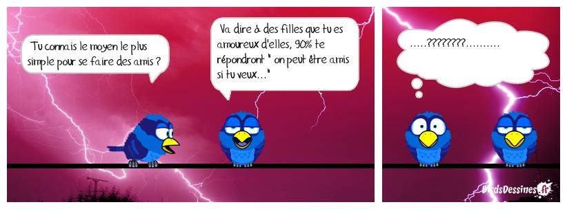 RECHERCHE D'AMIS