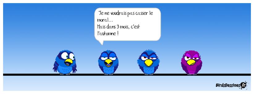 COMMENT CASSER LE MORAL