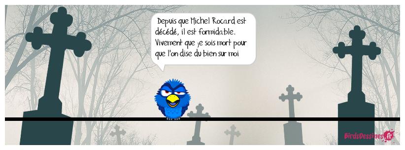 Décès de Michel Rocard
