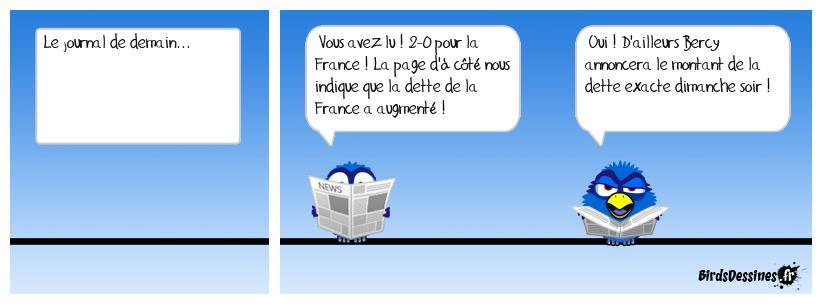 On a gagné !!! Vive la dette et vive la France !
