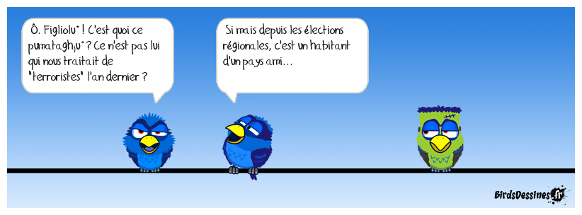Verbi Corse en attendant le verbi Breton de heg'