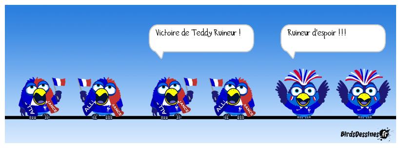 Bravo Teddy !